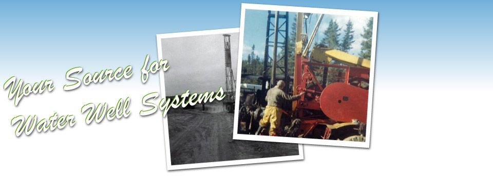 Your Source for Water Well Systems
